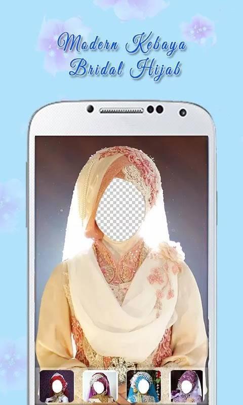 Aplikasi Edit foto Jadi Pengantin di HP Android