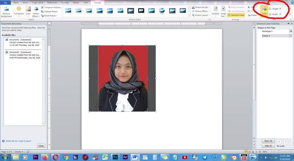 CARA EDIT PAS FOTO 3x4 DI WORD CROPING-1