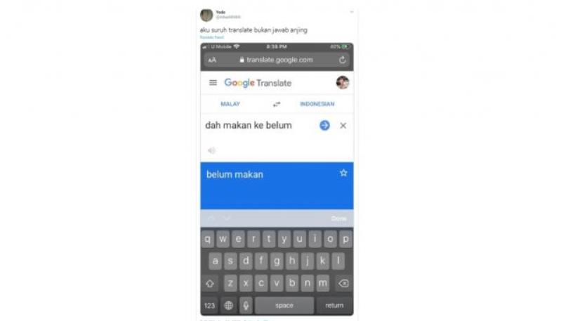 Jadi Tanya Jawab, Terjemahan di Google Translate Ini Bikin Ngakak 01